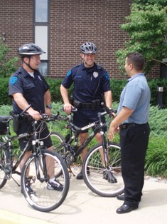 Bike Patrol Officers