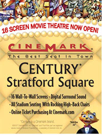 Century Theater amenities